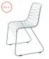 metalowe krzesło Flux szare   Magis   design Jerszy Seymour   Magis