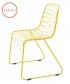 metalowe krzesło Flux żółte   Magis   design Jerszy Seymour   Magis