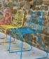 metalowe krzesło Flux   Magis   design Jerszy Seymour   Magis