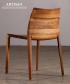 Torsio designerskie krzesło z litego drewna   Artisan   Design Spichlerz