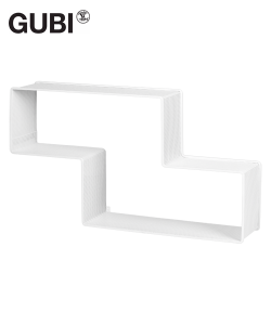 Dedal regał ścienny z metalu | Gubi | design Mathieu Mategot | Design Spichlerz