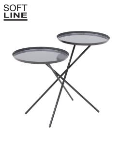 Monday stolik czarny | Softline | design busk+hertzog | Design Spichlerz