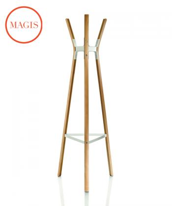 Steelwood Wieszak naturalny / biały | Magis | design Ronan & Erwan Bouroullec | Design Spichlerz
