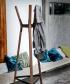 Steelwood Wieszak orzech / czarny | Magis | design Ronan & Erwan Bouroullec | Design Spichlerz