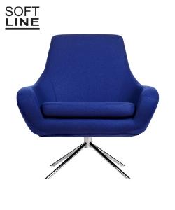 Fotel obrotowy Noomi duńskiej marki Softline | Design Spichlerz