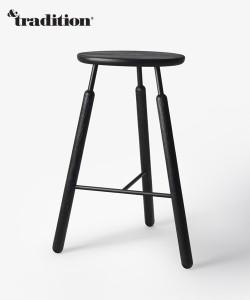 &Tradition hoker stołek barowy Raft NA4
