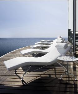 Szezlong Sense Skóra duńskiej firmy Softline | design busk+hertzog | Design Spichlerz