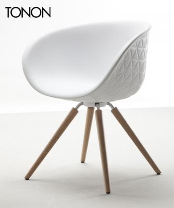 """Structure Wood krzesło   Tonon   Przemysła """"Mac"""" Stopa   Design Spichlerz"""