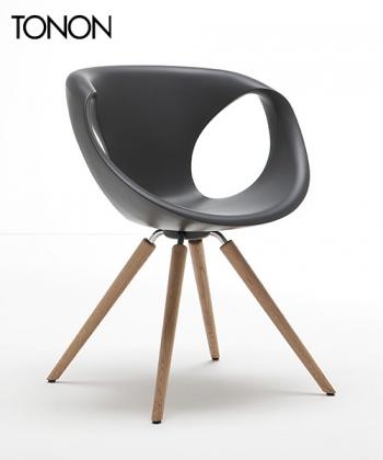 Up Chair Wood krzesło | Tonon | design Martin Ballendat | Design Spichlerz