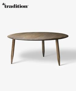 skandynawski stolik kawowy &tradition Hoof Table SW2