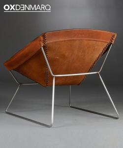 Stitch fotel skórzany | OX Denmarq | Design Spichlerz