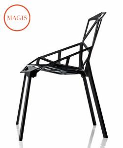 Magis Chair_One Konstantin Grcic designerskie krzesło ikona designu