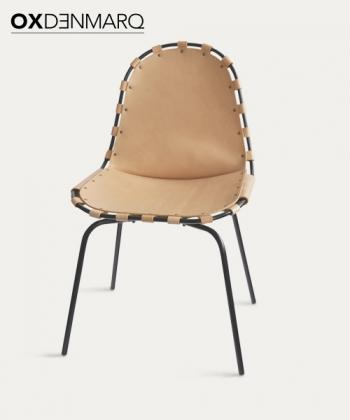Stretch krzesło skórzane | OX Denmarq | Design Spichlerz