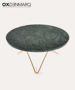 O Table stolik kawowy z blatem z marmuru | OX Denmarq | Design Spichlerz