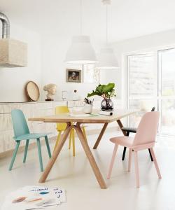 Split stół drewniany | Muuto | Design Spichlerz