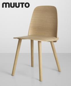 Nerd krzesło drewniane | Muuto | Design Spichlerz