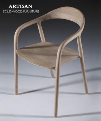 Neva krzesło z litego drewna | Artisan