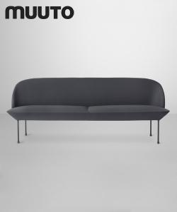 Oslo Sofa 3 osobowa | Muuto | design Anderssen & Voll