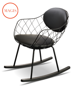 Piña krzesło bujane | Magis | design Jaime Hayon