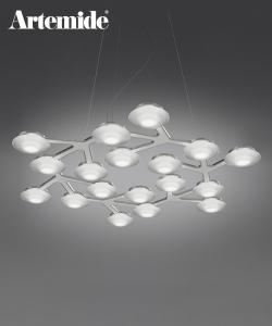 LED Net Circolare Sospensione | Artemide | design Michele De Lucchi