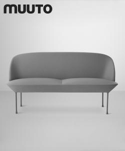Oslo Sofa 2 osobowa | Muuto | design Anderssen & Voll