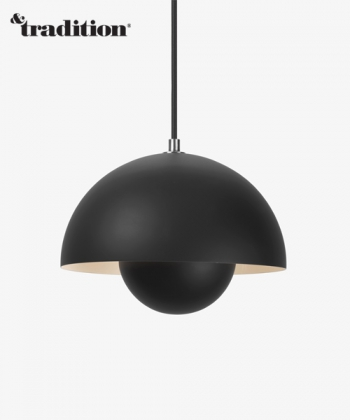 Flowerpot VP1 lampa wisząca matowa &Tradition design Verner Panton Design Spichlerz