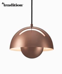 Flowerpot VP1 lampa wisząca metaliczna &Tradition design Verner Panton Design Spichlerz