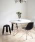 Big O stół z blatem z marmuru   OX Denmarq   Design Spichlerz