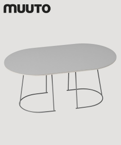 Airy stolik kawowy | Muuto | design Cecilie Manz