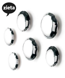 Pin 6 wieszaki | Zieta | design Oskar Zięta