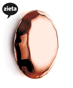 Pin Copper wieszak | Zieta | design Oskar Zięta