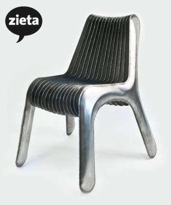 Steel In Rotation No. 3 krzesło | Zieta | design Oskar Zięta