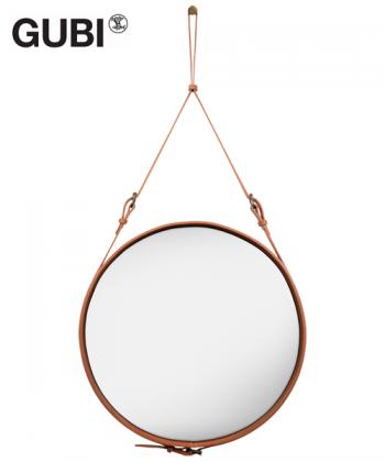 Adnet Circulaire lustro   Jacques Adnet   Gubi   Design Spichlerz