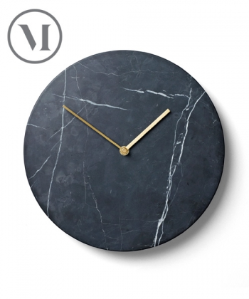 Marble Wall Clock   Menu   design Norm Architects