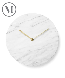 Marble Wall Clock | Menu | design Norm Architects