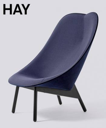 Uchiwa fotel | Hay | design Doshi Levien