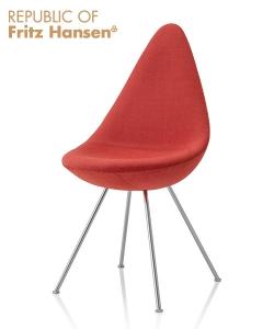 Drop tapicerowane | Fritz Hansen | design Arne Jacobsen