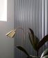 Bellevue AJ7 lampa stojąca mosiądz   design Arne Jacobsen   &tradition