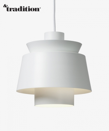 Utzon Pendant lampa wisząca biała | &Tradition | design Jørn Utzon | Design Spichlerz