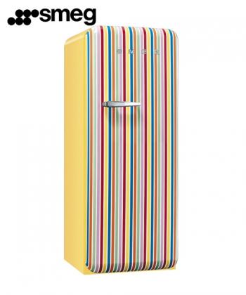 Chłodziarko-zamrażarka FAB28 Candy Stripes | Smeg