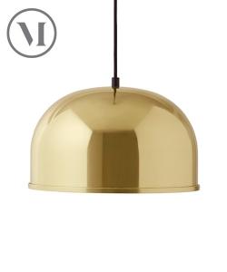 GM 30 Pendant Metalic lampa wisząca mosiądz | Menu | design Grethe Meyer