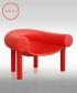 Sam Son fotel czerwony   Magis   design Konstantin Grcic