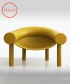 Sam Son fotel musztardowy   Magis   design Konstantin Grcic