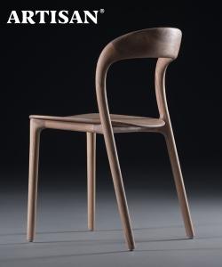 Neva Light krzesło z litego drewna Artisan