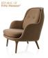 Fri fotel brązowy (Steelcut Trio 235) | Fritz Hansen | design Jaime Hayon
