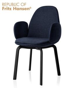 Sammen JH30 duńskie krzesło tapicerowane | design Jaime Hayon | Fritz Hansen