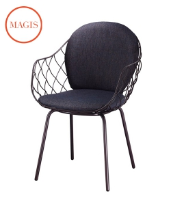 Piña Outdoor krzesło ogrodowe w stylu skandynawskim | Magis | design Jaime Hayon