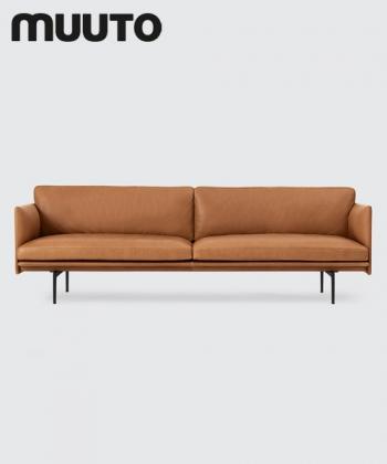 Outline Sofa 3 osobowo | Muuto | design Anderssen & Voll