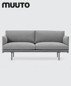 Outline Sofa 2 osobowa Muuto | design Anderssen & Voll