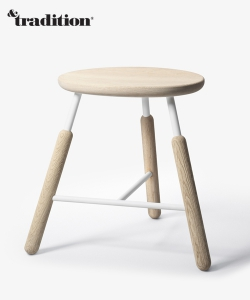 Raft Stool NA3 stołek dąb | &Tradition | Norm Architects | Design Spichlerz